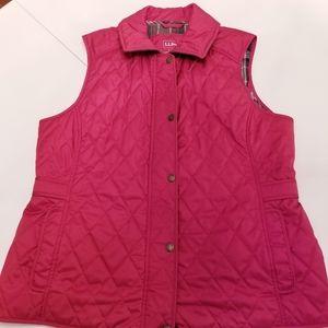 L.L.Bean Women's Quilted Riding Vest
